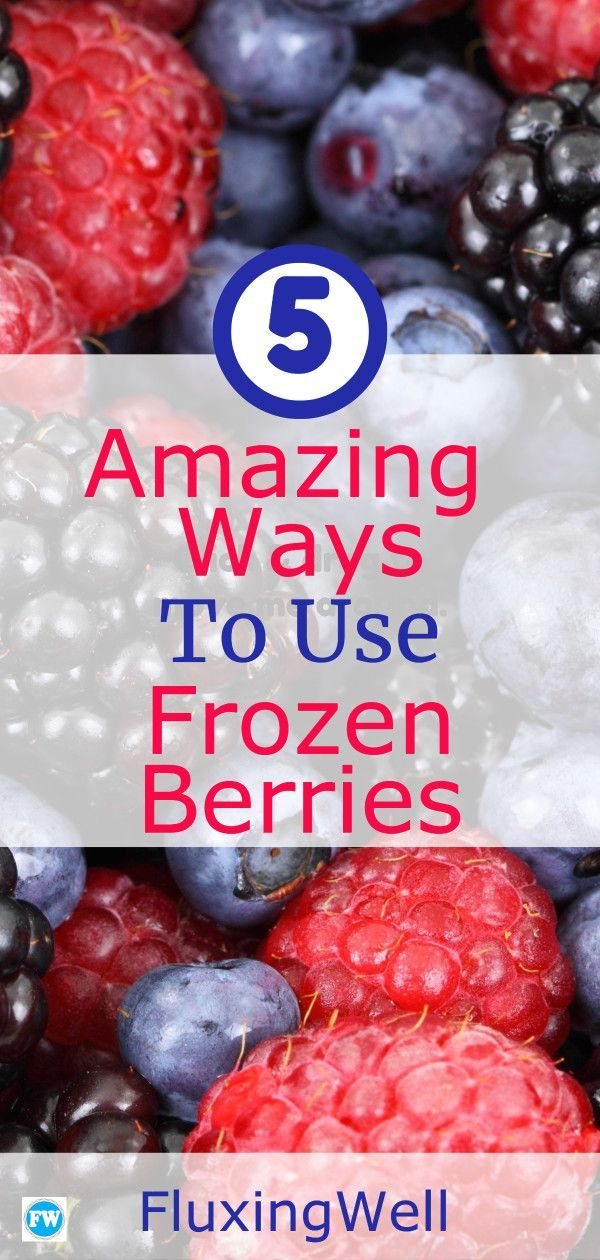 Berries These 5 amazing and delicious ways to use frozen berries will help you clear out freezer space in no time Gelato pie smoothies jam and cobbler recipes are all det...