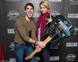 Dianna Agron and Darren Criss