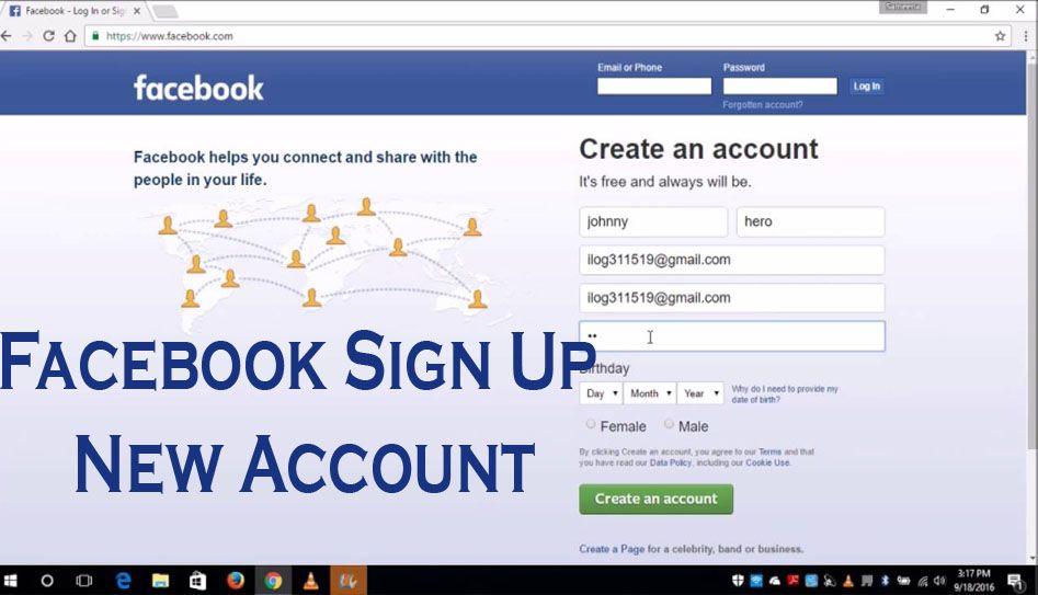 first rate outlet top design Facebook Sign Up New Account | Facebook sign up, Facebook ...