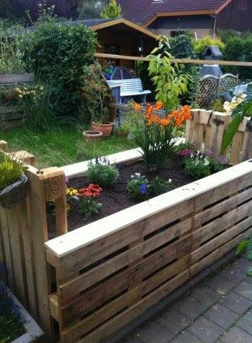 41 Raised Garden Ideas Using Used Pallet Wood Page 12 Wood
