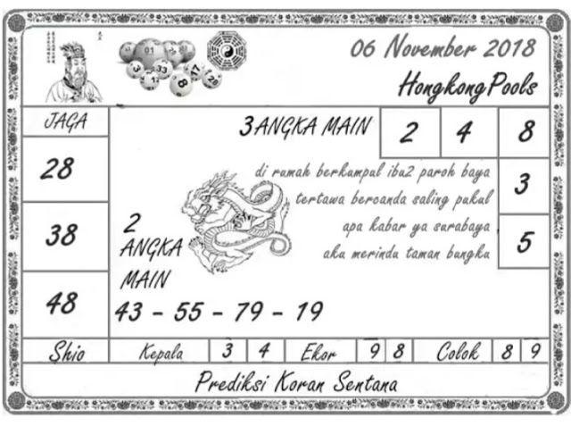 Prediksi Togel Hongkong 06-11-2018,Prediksi togel HONGKONG,togel