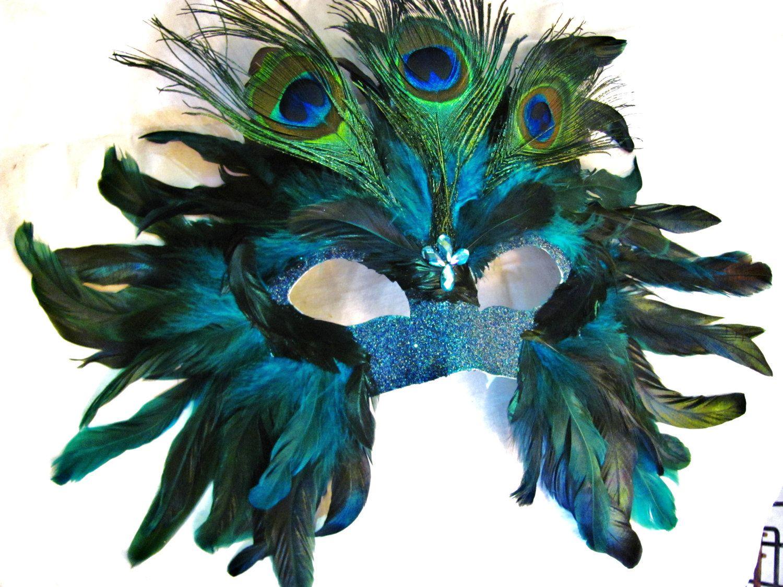 il_fullxfull.388618147_i9x1.jpg (1500×1125) peacock mardi gras mask Peacock  Mask