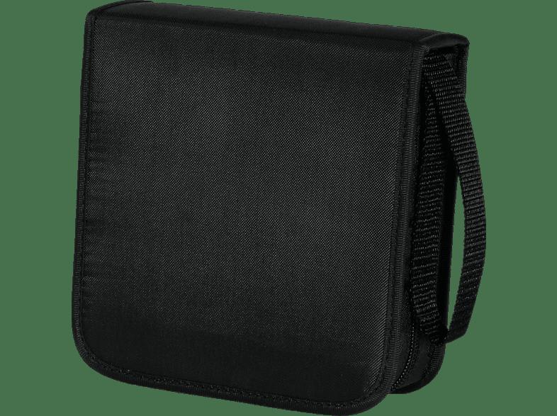 Hama Cd Wallet Cd-tasche, Schwarz ,schwarz