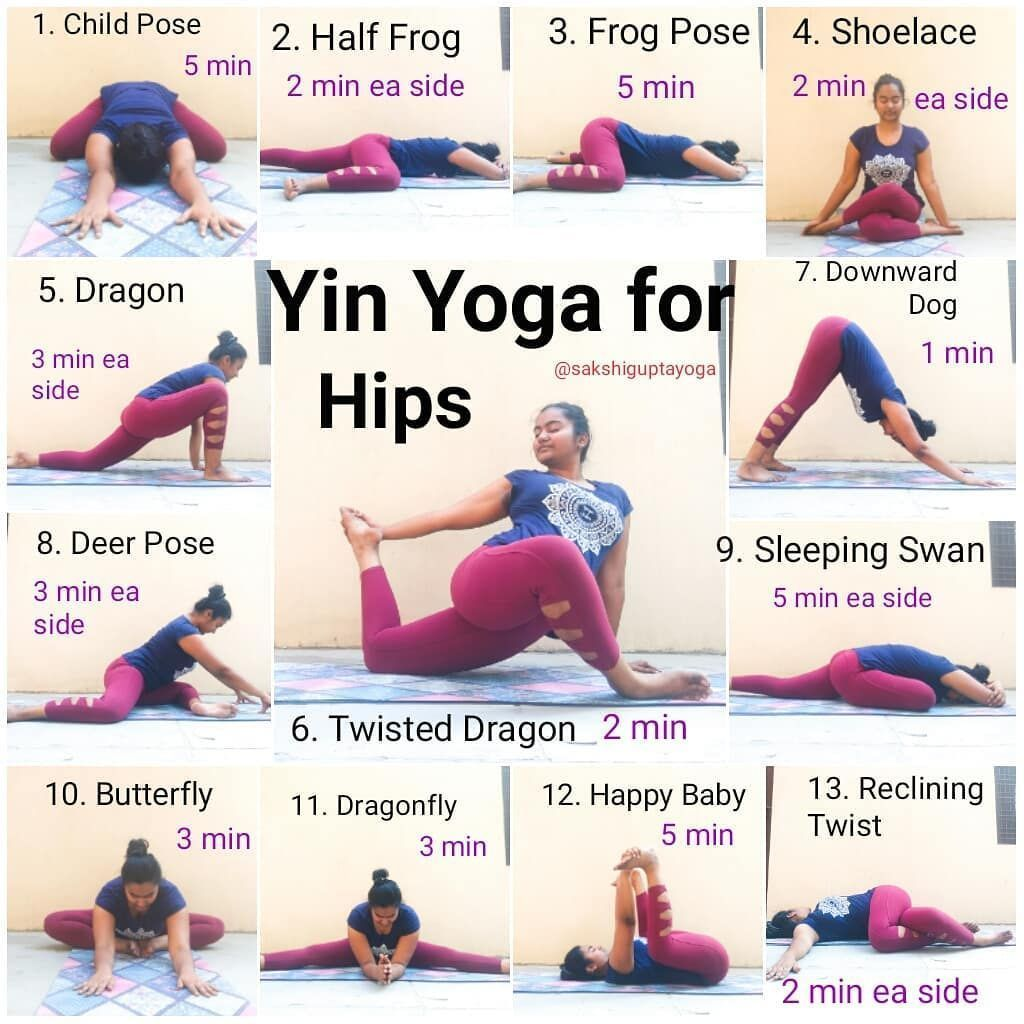 """Sakshi Gupta on Instagram: """"Yin Yoga Sequence for the Hip Who Loves Yin? 🙋 My today's pr ... -  Saks..."""