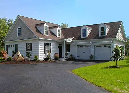 plan 32598wp: l-shaped cape cod home plan | cod, traditional and house