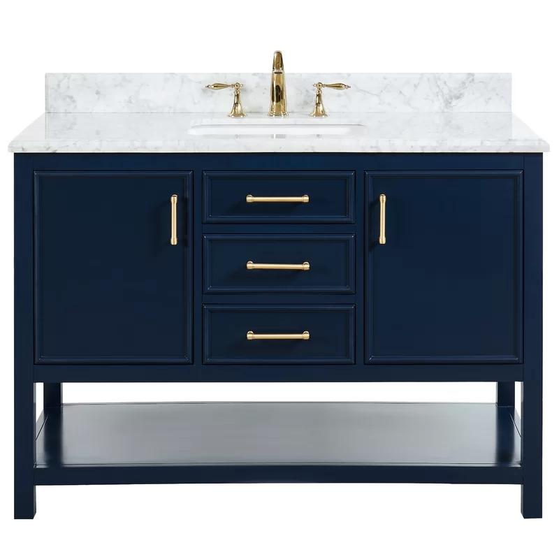 Patrina 49 Single Bathroom Vanity Set In 2020 Single Sink