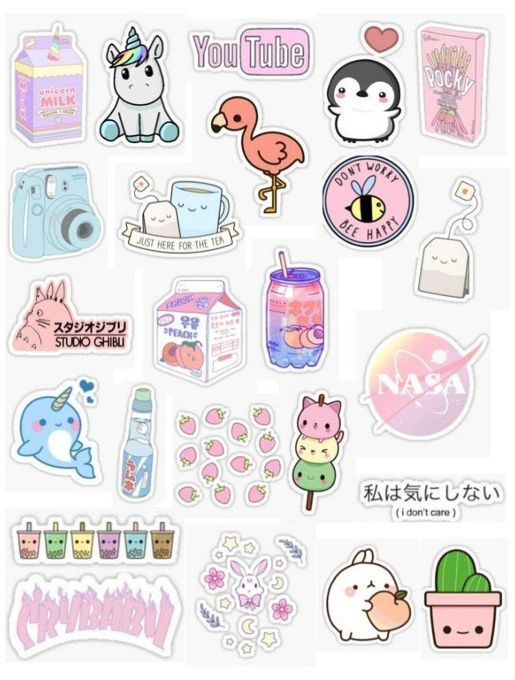 Kawaii Aufkleber Kawaii Stickers Whatsapp Kawaiistickerswhatsapp Kawaii Aufkleber Aufkleber Kawaii Sourc In 2021 Sticker Art Preppy Stickers Aesthetic Stickers