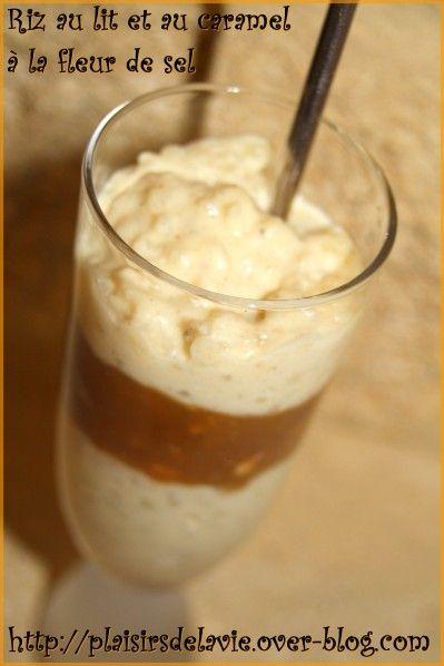 Incroyable Recette Caramel Beurre Salé Cyril Lignac riz au lait et au caramel à la fleur de sel (recette de cyril lignac