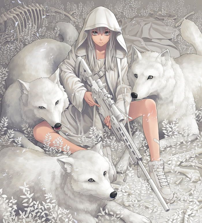 Photo of A wolf with a sheeps clothing