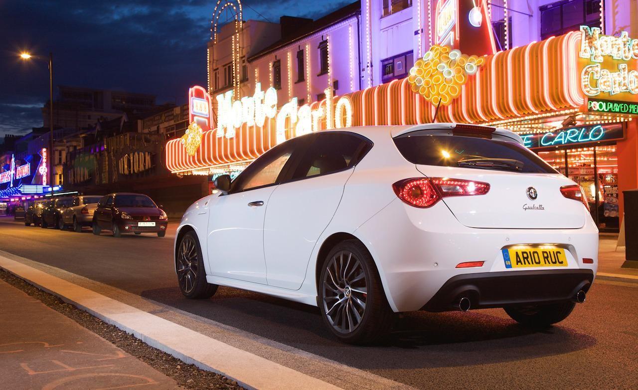 2014 Alfa Romeo Giulietta Night Rear Widescreen Wallpaper Alfa