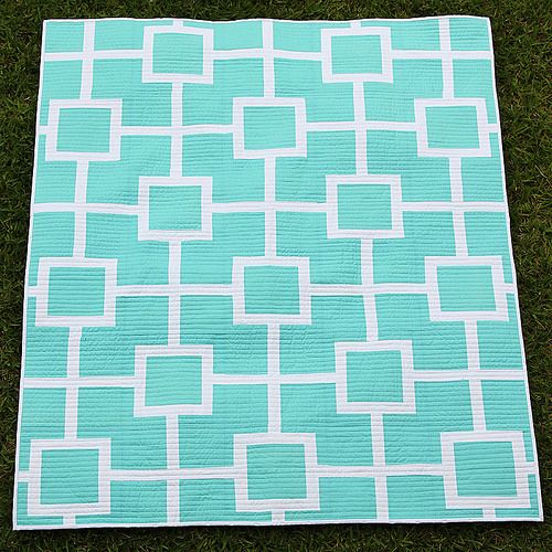 """Beautiful """"Latice Love"""" quilt12 Kirsty Bonjour of You Had Me at Bonjour."""