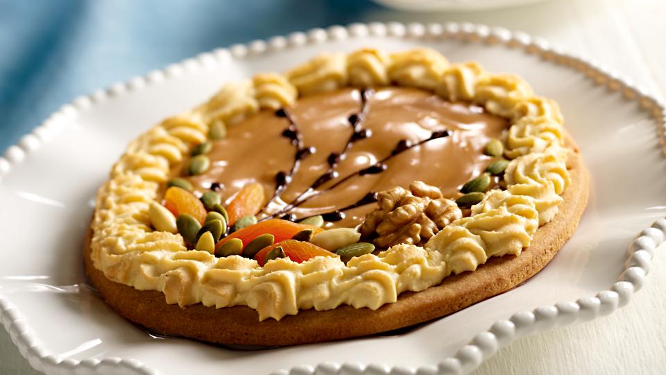 Mazurek Migdalowo Kajmakowy Przepis Recipe Food Desserts Easter Cakes