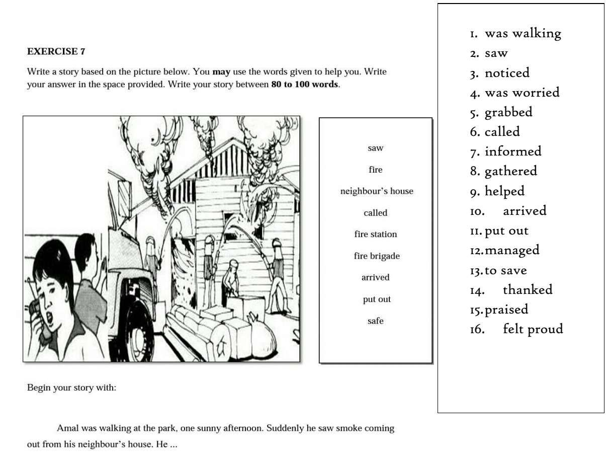 English Writting Practices Section C