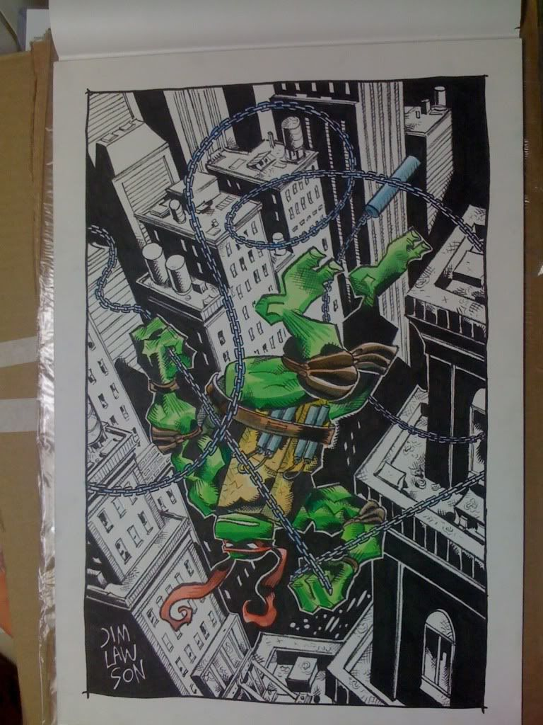 A TMNT Sketch Opportunity with a Mirage Studios Pioneer, Jim Lawson! - Collectors Society Message Boards