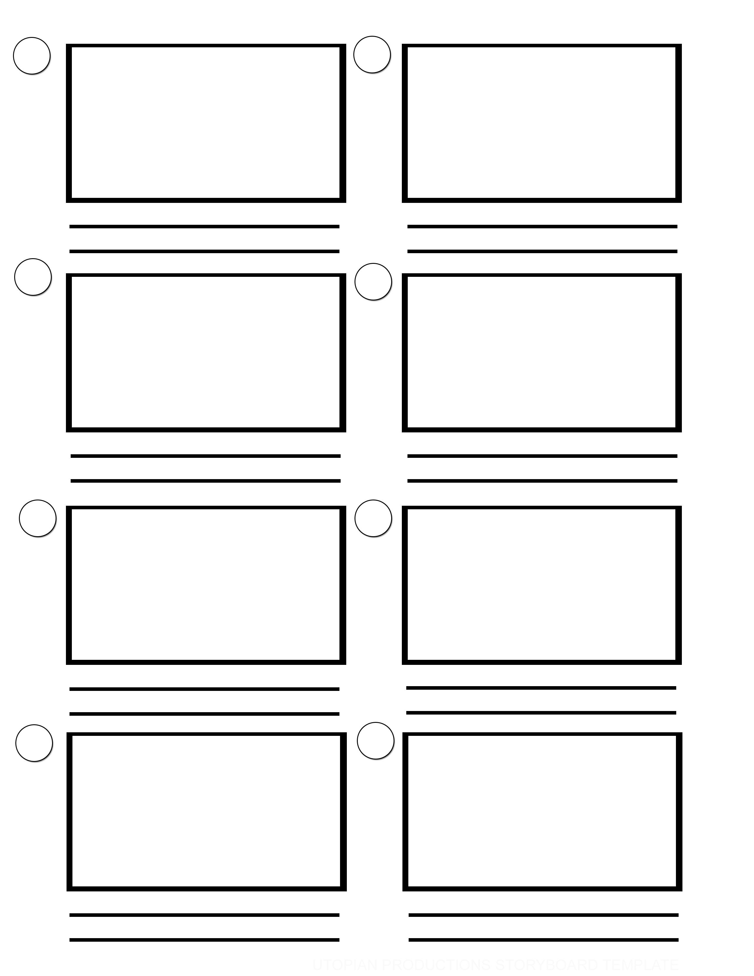 Download Free Storyboard Template Tutorials