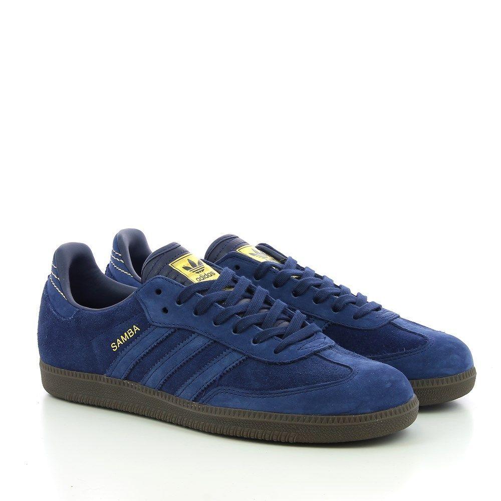 Adidas Samba FB Dark Blue EU Kicks: Sneaker Magazine
