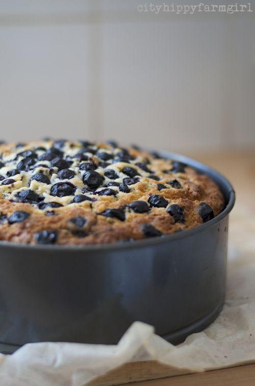 blueberry cake recipe || cityhippyfarmgirl