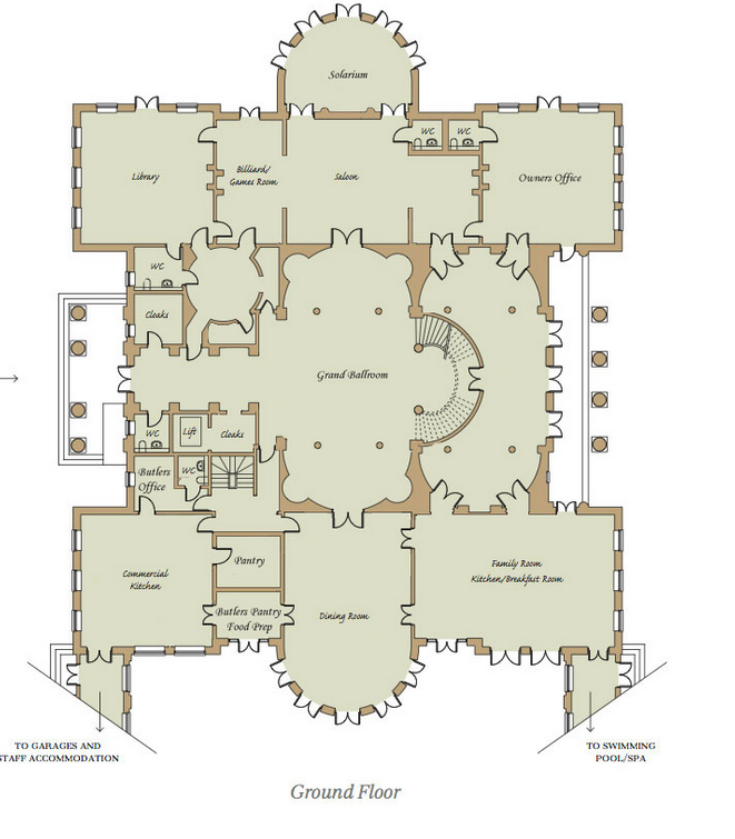 Two homes of the rich readers eric teddi have revised for Homes of the rich floor plans