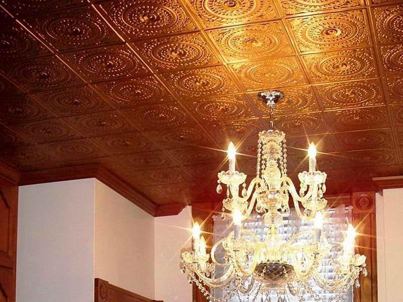 Pin by Joy Bryant-Baucum on Kitchen paint | Faux tin ceiling
