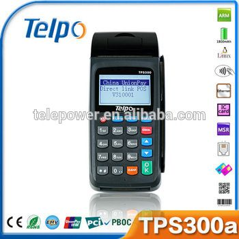 Telepower TPS300a Card Swipe Machine for Payment/Lottery/Bus