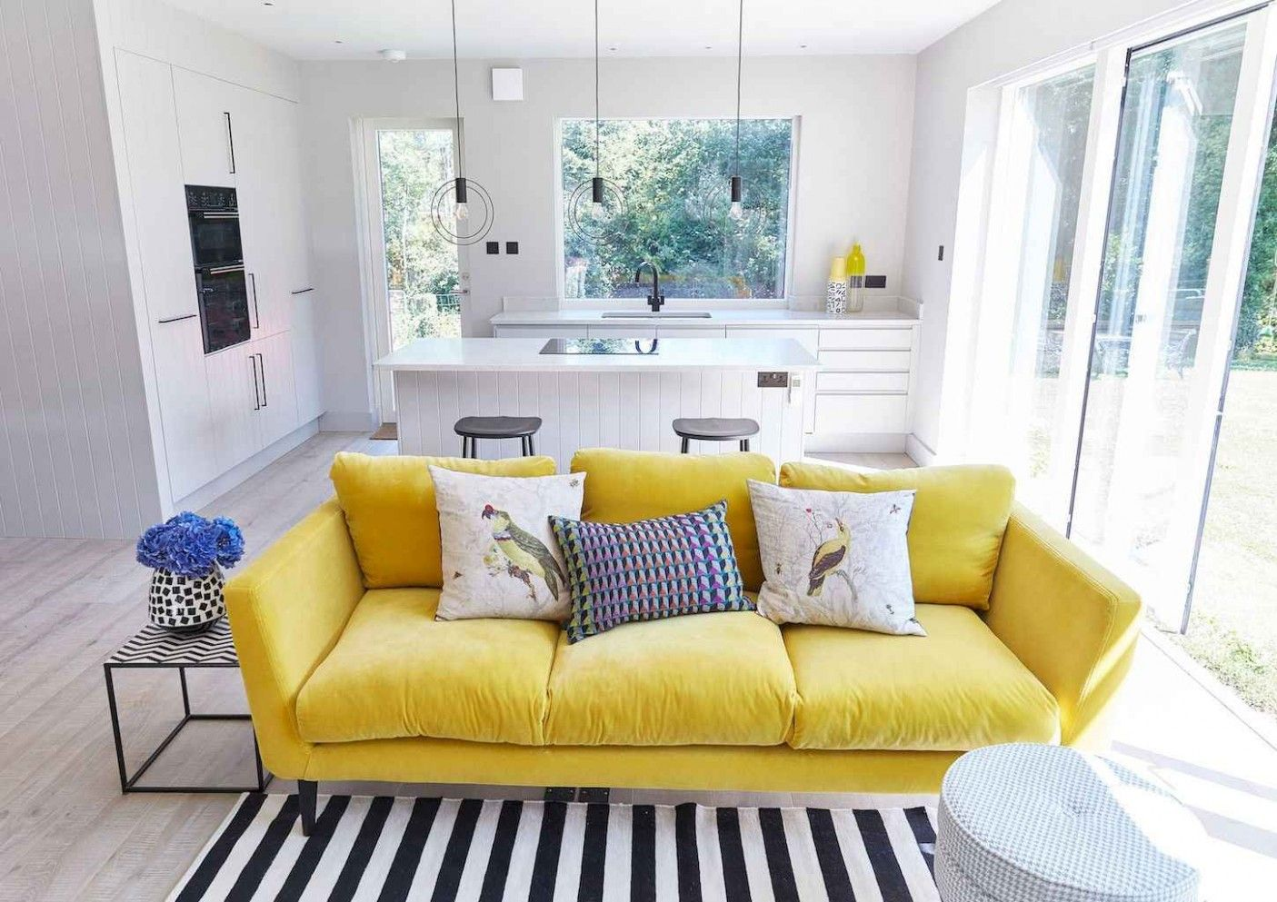 Simple Guidance For You In Living Room Ideas Yellow Sofa Yellow Decor Living Room Small Living Room Design Living Room Sofa Living room ideas yellow
