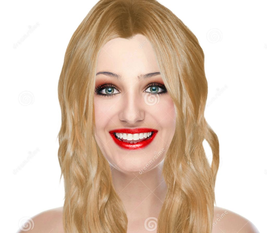 """Virtual Hairstyle For Your Face: """"beauty"""" Created Using TAAZ Virtual Makeover. Try On"""