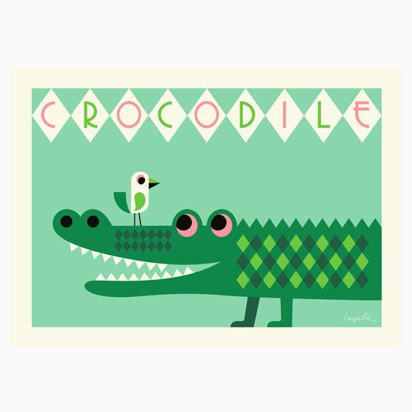 Poster - Crocodile