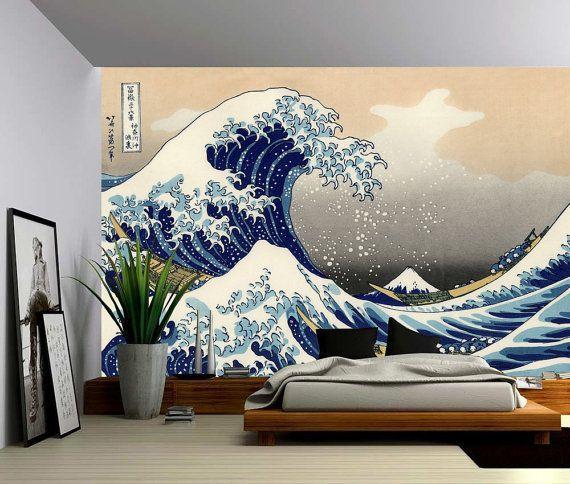 The Great Wave off Kanagawa Large Wall Mural, Self