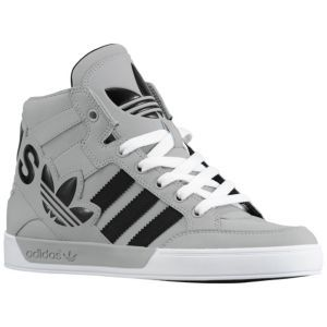 quality design ecfbb d1136 adidas Originals Hard Court Hi Big Logo - Sport Inspired - Shoes -  Aluminum Black White