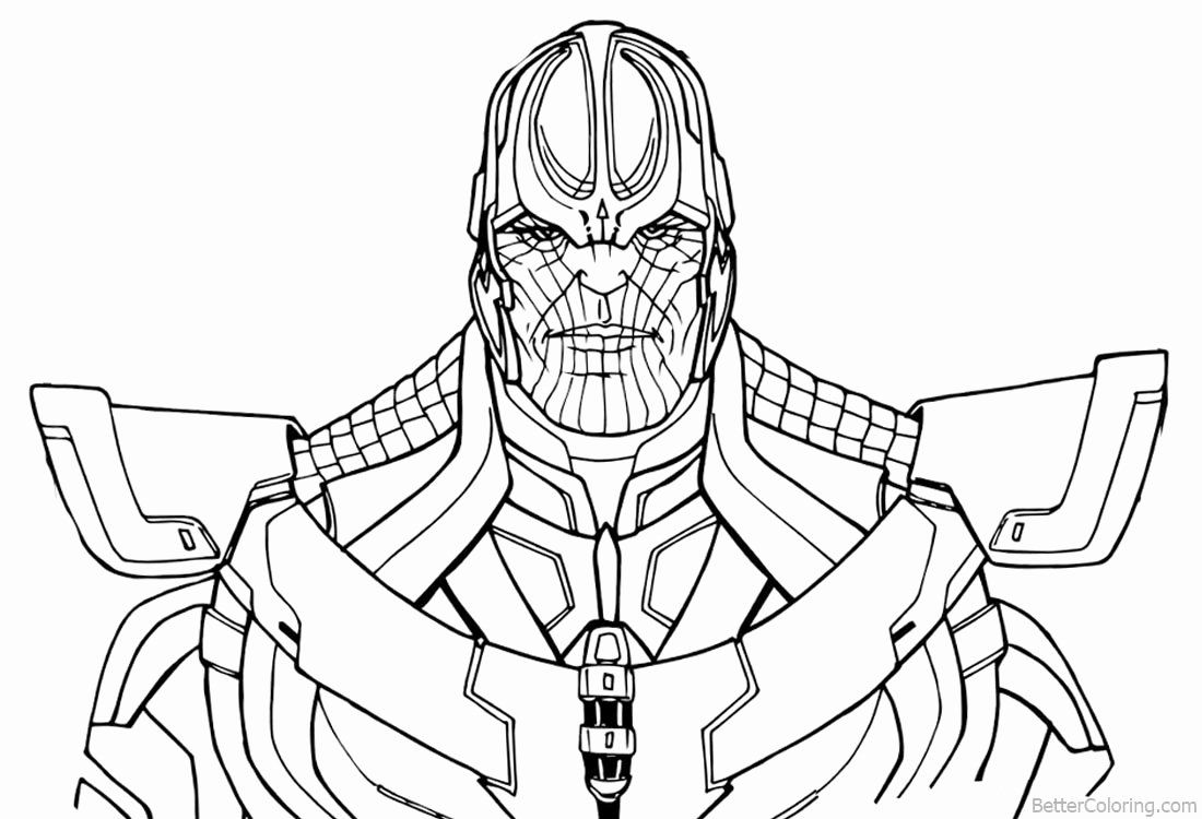 24 Infinity Gauntlet Coloring Page In 2020 Coloring Pages