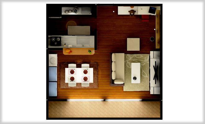 使いやすい 対面キッチン付き14畳l字型リビングのレイアウト 家具配置例 リビングのコーディネート レイアウト レイアウト リビングダイニング L字 インテリア