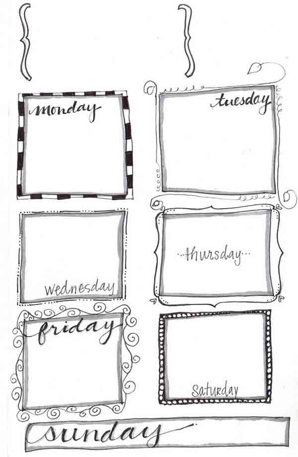 10 Fabulous and Totally Free Planner Printables Weekly planner - free printable weekly planner