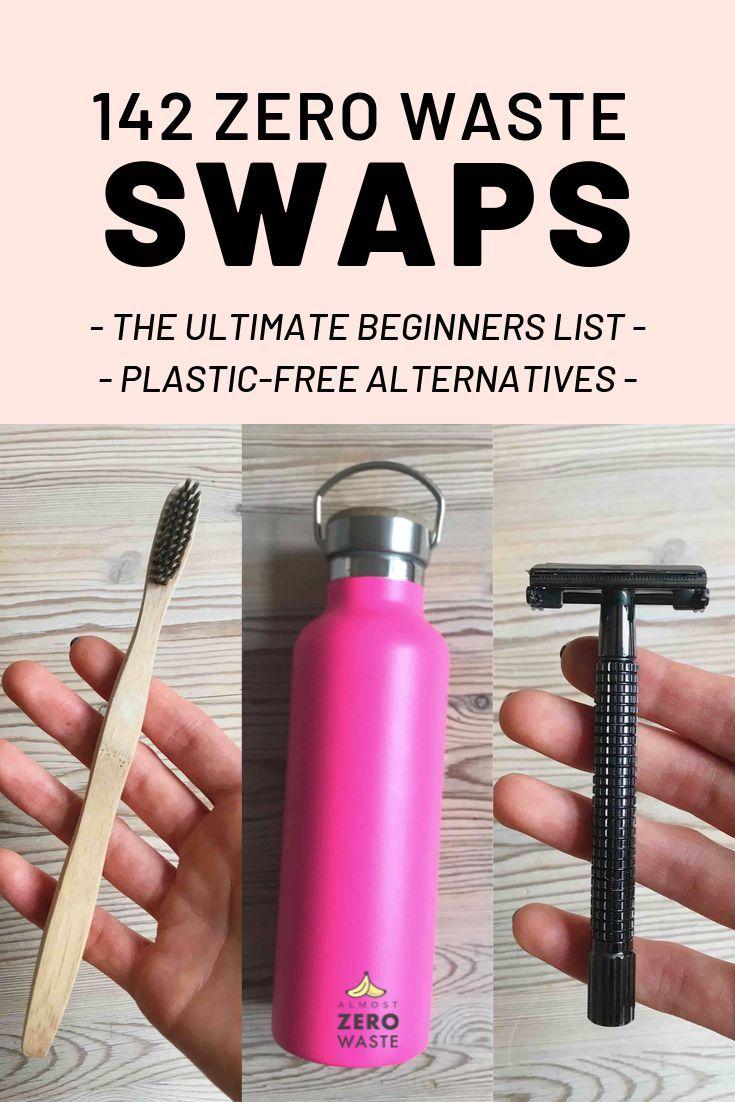 142 Zero Waste Products: Ultimate Beginners List of Zero Waste Swaps