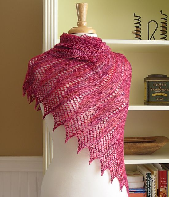 57ee4c5ba9be9 Mistral Shawl pattern by Julie Finocchiaro | 2019 craft | Lace ...
