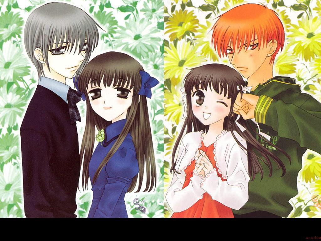 Haha which one would u choose Fruits basket anime