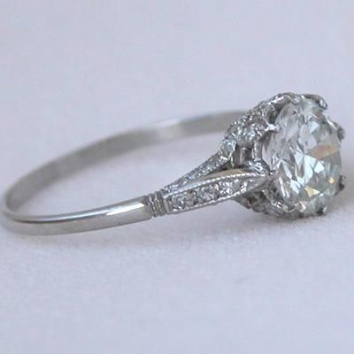 Edwardian Style Engagement Rings 24 Save The Date Pinterest