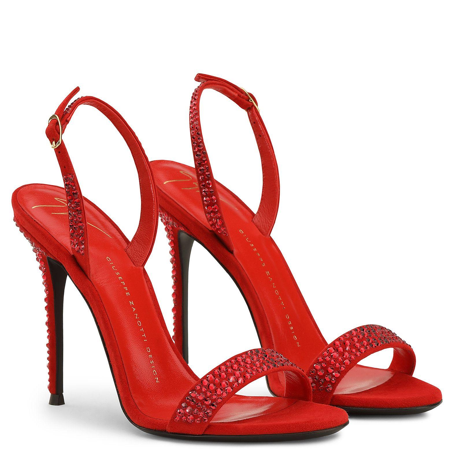 Adalie - Sandals - Red | Giuseppe