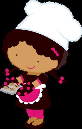 Luh Happy Luh Happy Minus Com Clip Art Cozinheira Desenho