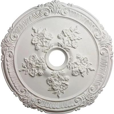 Ekena Millwork Attica 26 In X 26 In Primed Polyurethane Ceiling