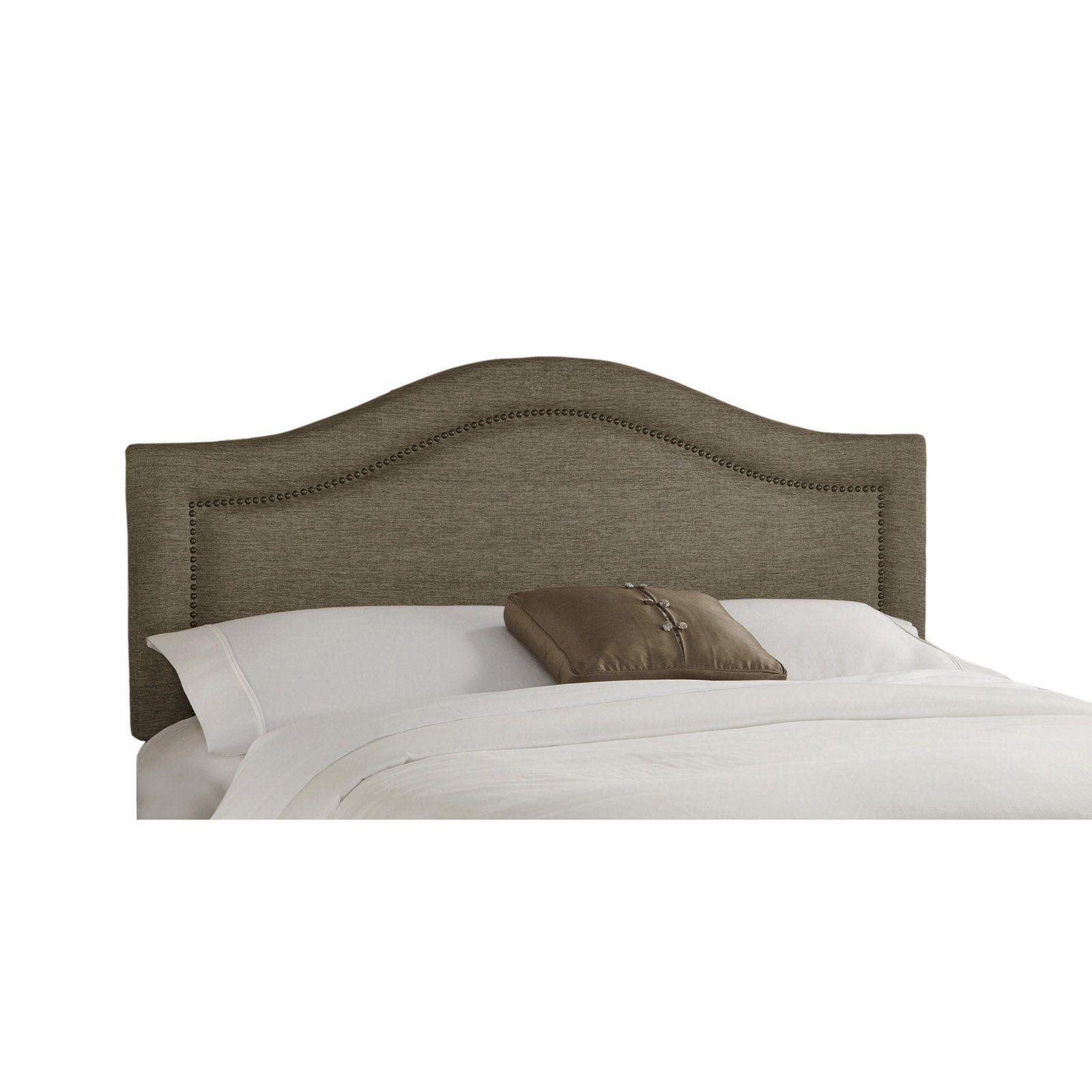 Nail Head Trim Upholstered Headboard Upholstered Headboard Bed