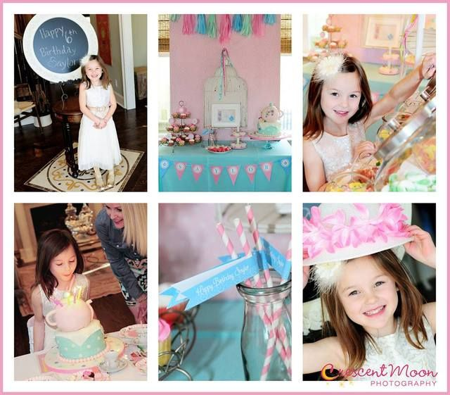 Tea Birthday Party Ideas | Photo 13 of 14 | Catch My Party