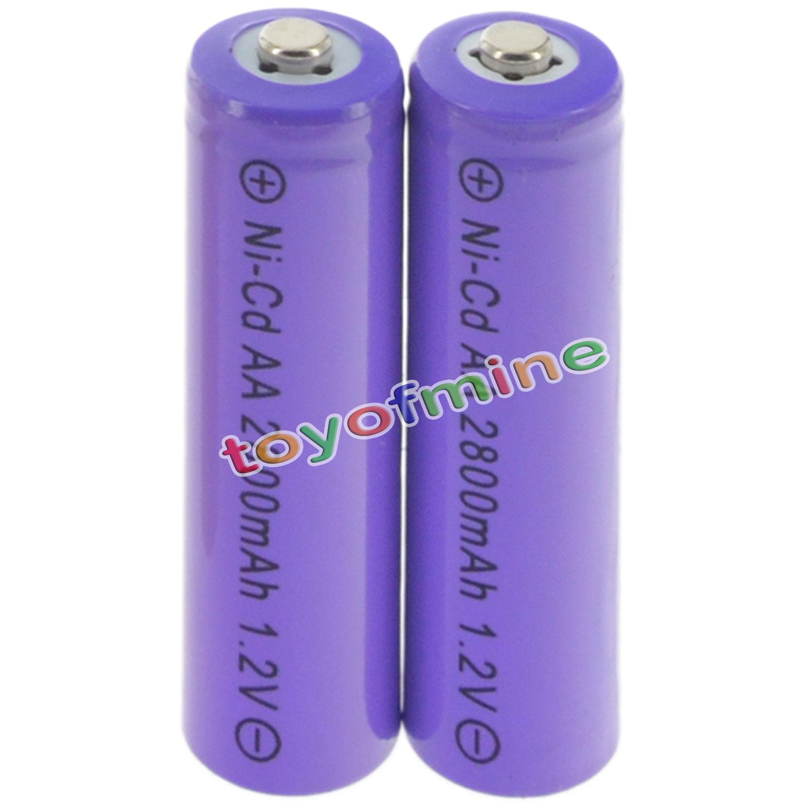 2 8 Aud 2 Aa Random Rechargeable Batteries Nicd 2800mah 1 2v Garden Solar Light Lamp Ebay Electronics Solar Lights Lamp Light Solar