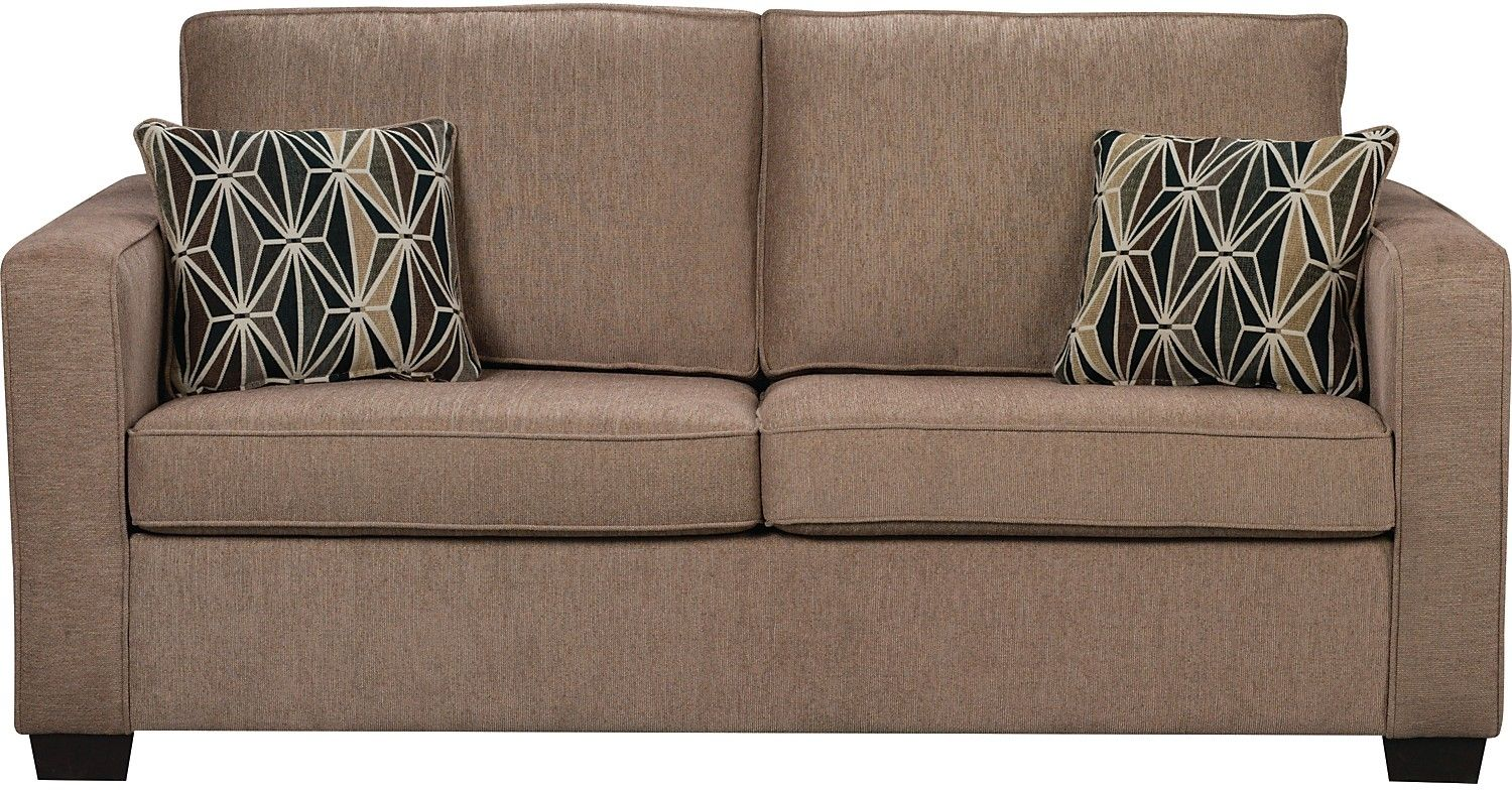 Oak Furniture Sofa Beds Bobs Apollo Review Freya Chenille Full Size Bed The Brick