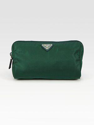 2ca9c90e5de5 Prada Nylon Triangle Cosmetic Bag