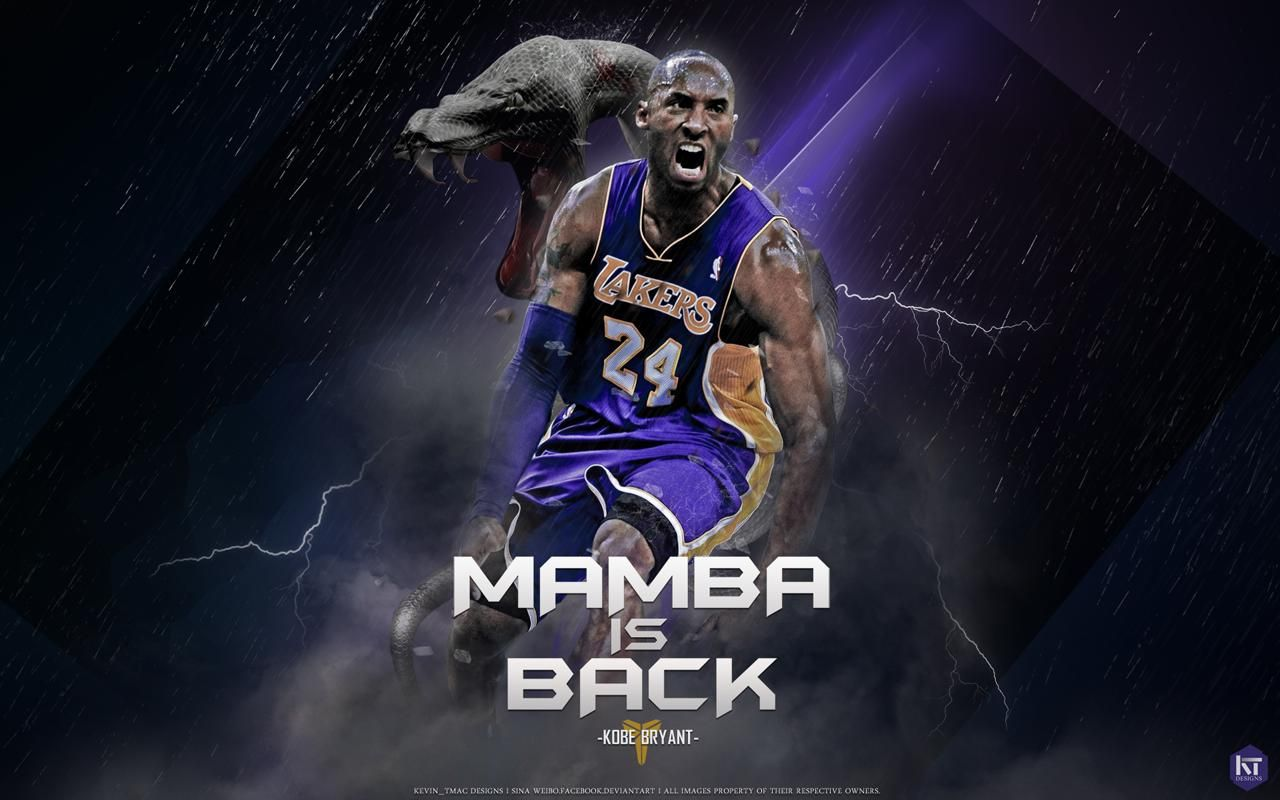 Mamba Is Back Kobe Bryant Hd Wallpapers Kobe Bryant Wallpaper Kobe Bryant Kobe