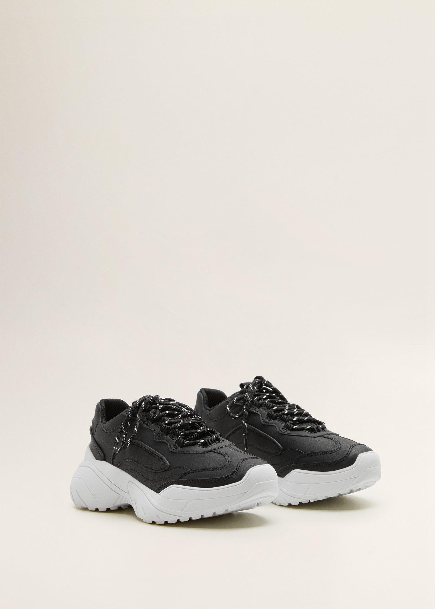 6a96c77967 Deportivas suela contraste - Mujer en 2019 | Zapatos deportivos ...