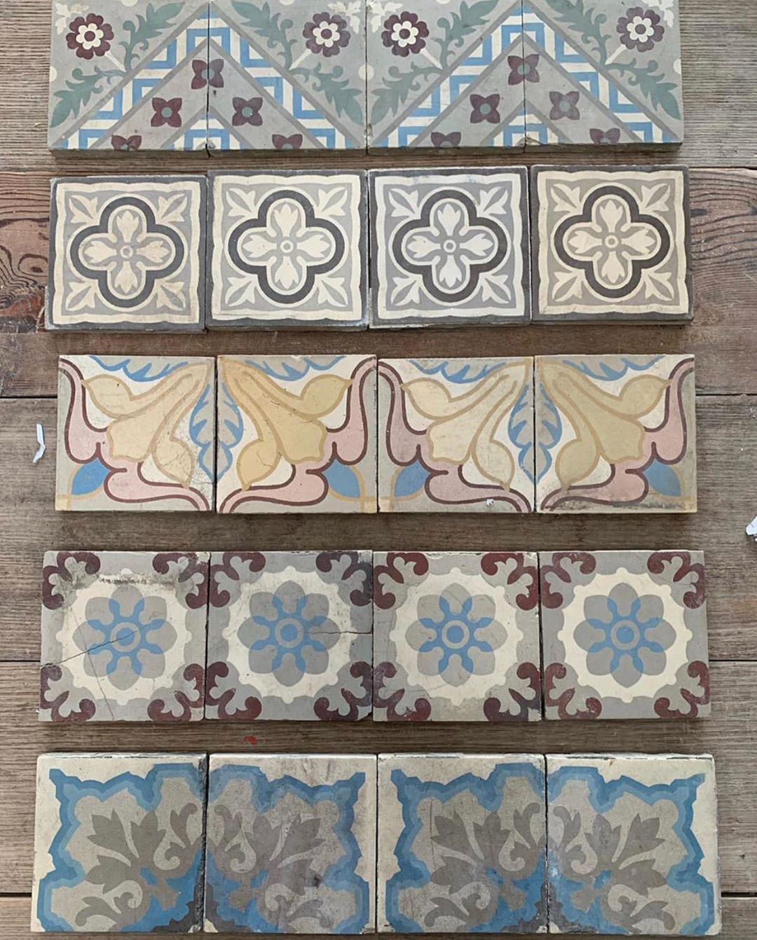 Antique And Encaustic Tiles On Instagram Every Step Takes You Somewhere Steps Risers Uprisers Jatanain Encaustic Tile Antique Tiles Morrocan Floor Tiles