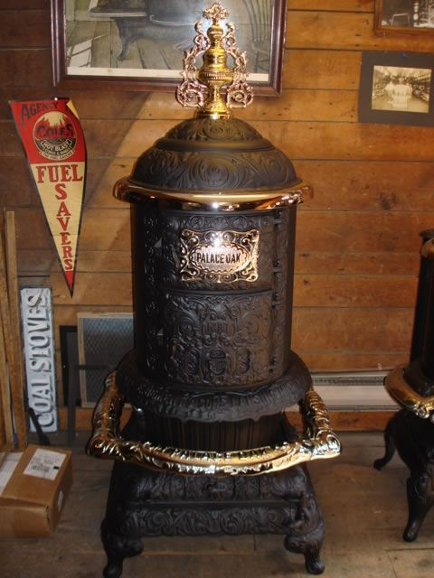 Over 500 Antique Stoves at Barnstable Stove, Antique Coal, Wood, Kitchen  and Parlor - Beautiful Wood Stove For Sale! My Work (Mill Creek Antiques