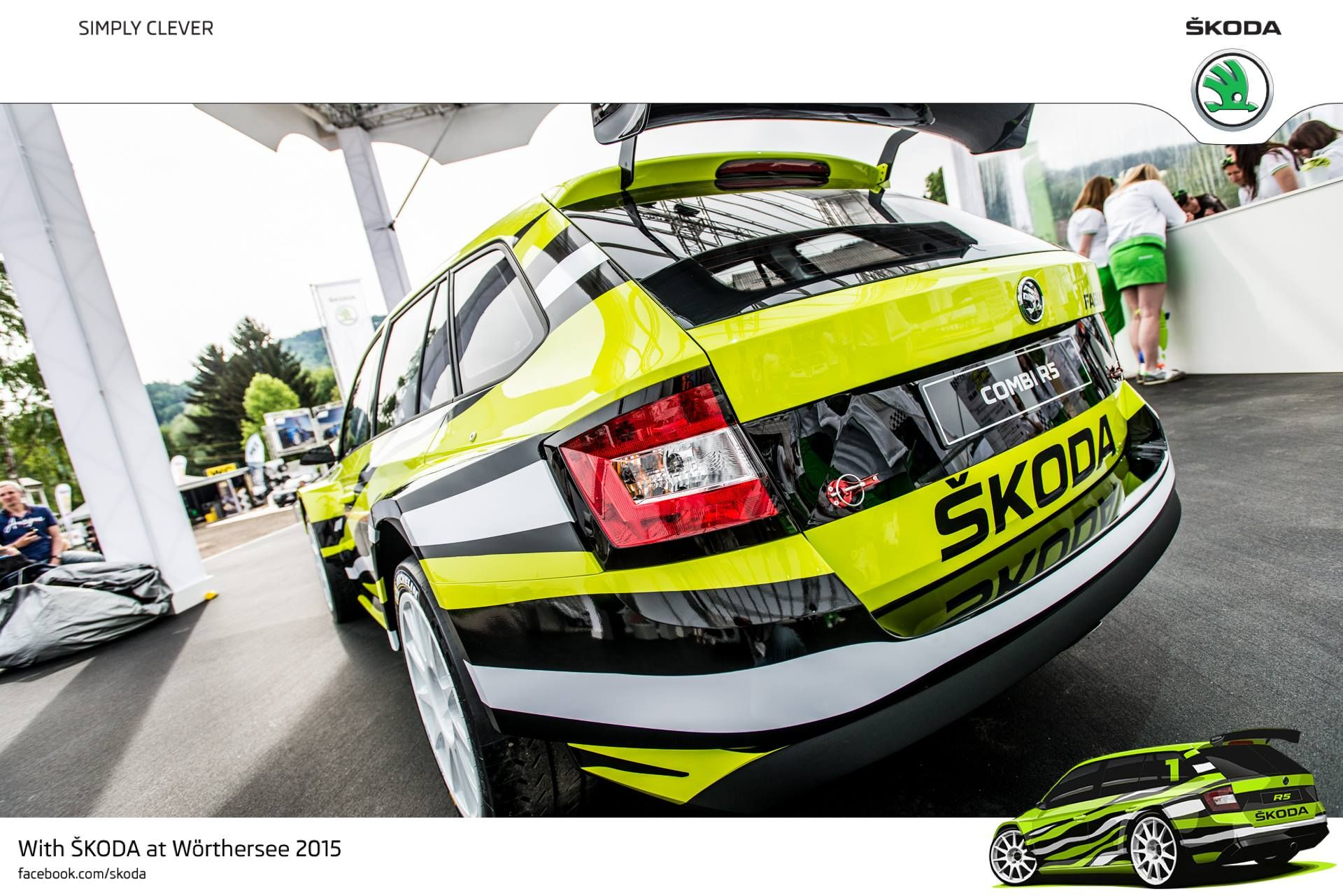 All Wheel Drive Sequential Five Speed Transmission And Mcpherson Struts R5combi Skodawoerthersee Skoda The Struts Fast Cars