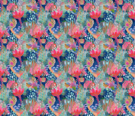 Mary Contrary fabric by stephaniecorfee on Spoonflower - custom fabric
